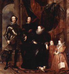 retrato familia lomellini