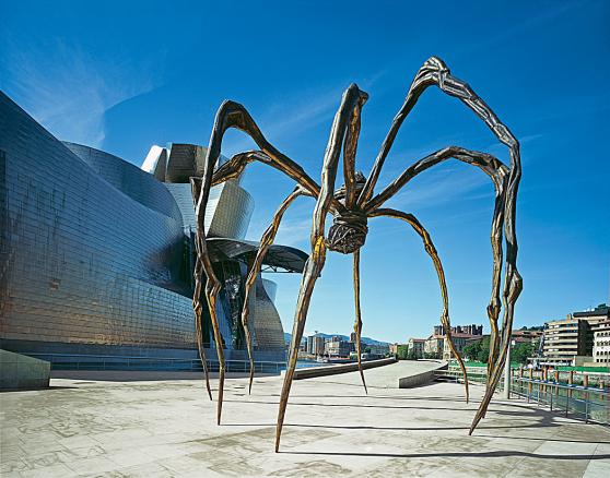 escultura arana