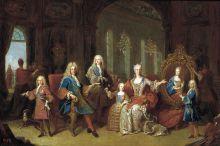 retrato familia felipe v