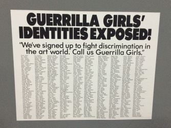guerrilla girls matadero madrid