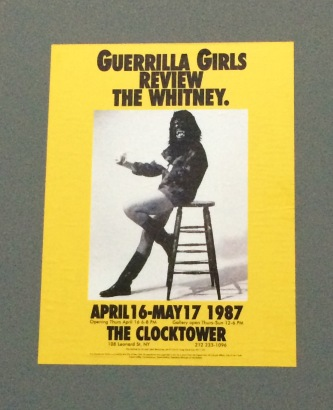 guerrilla girls matadero