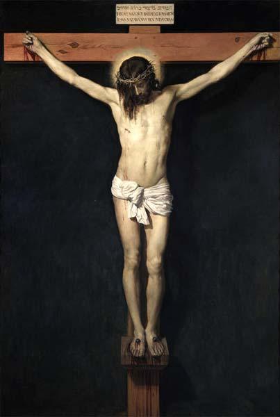 cristo crucificado diego de velazque