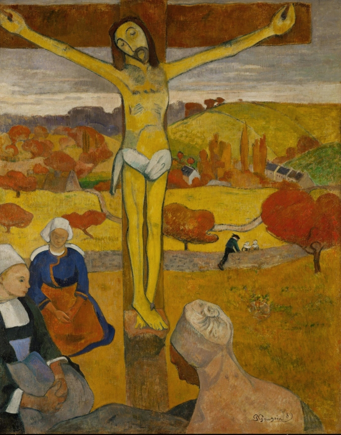 Gauguin_Il_Cristo_giallo 1889