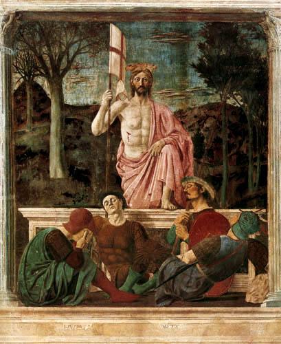 la resurección de Cristo piero de la franchesca